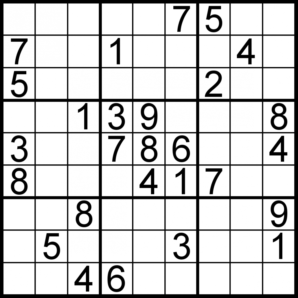 Sudoku Of The Day | Free Sudoku For Your Local Publications! - Free Printable Sudoku