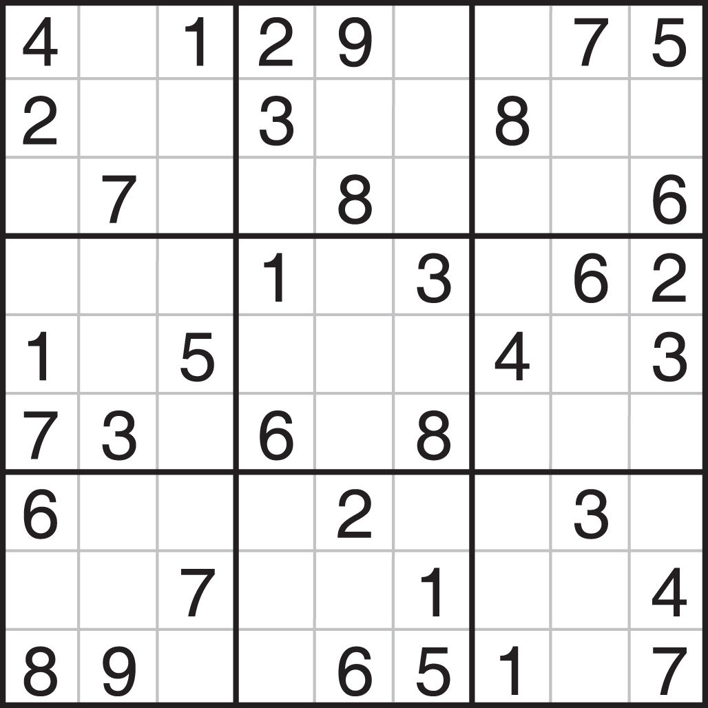 Sudoku Printables Easy For Beginners | Printable Sudoku | Things To - Free Printable Sudoku Puzzles
