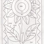 Summer Sunflower Punchneedle | Crafting | Punch Needle Patterns   Free Printable Punch Needle Patterns
