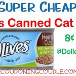 Super Cheap 9Lives Canned Cat Food @ Dollar General! $0.08 Per Can!   Free Printable 9 Lives Cat Food Coupons