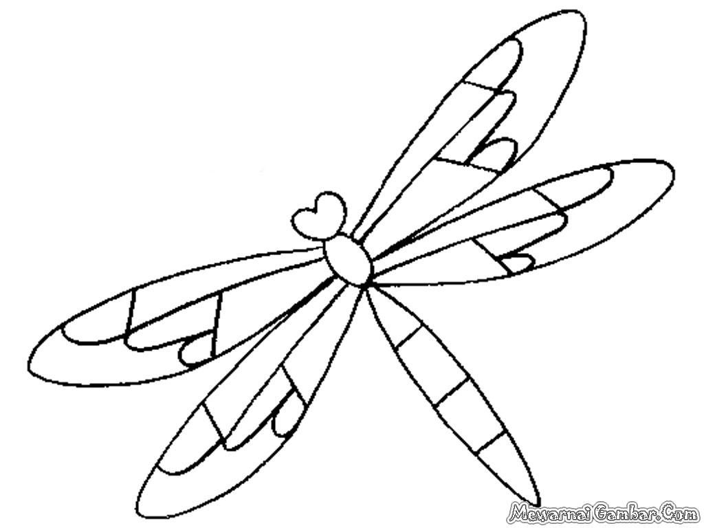 Superb Dragonfly Coloring Pages #6 - Free Printable Stained Glass - Free Printable Pictures Of Dragonflies