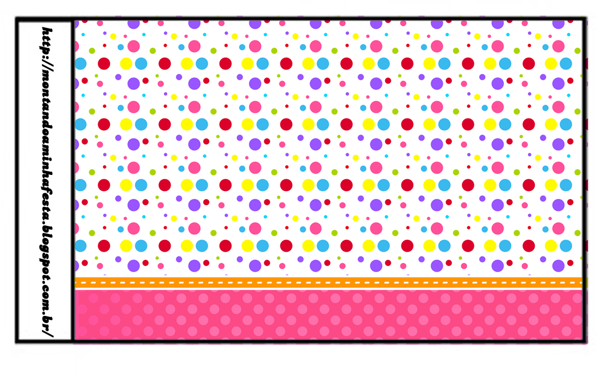 Sweet 16 Colored Dots For Girls: Free Printable Candy Bar Labels - Free Printable Sweet 16 Labels