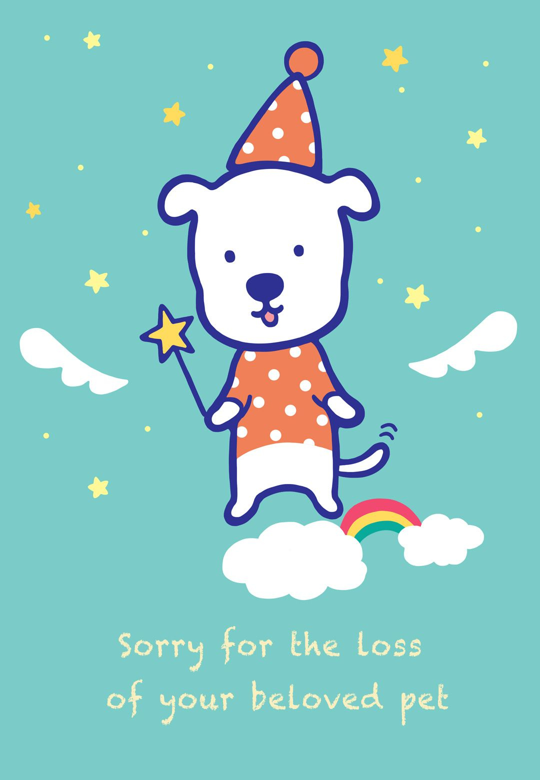 Sympathy #card For The Loss Of A #pet - Free Printable   Sympathy - Free Printable Sympathy Cards For Dogs