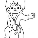 Tai Kwon Do | Tae Kwon Do Colouring Pages | Coloring | Pinterest   Free Printable Karate Coloring Pages