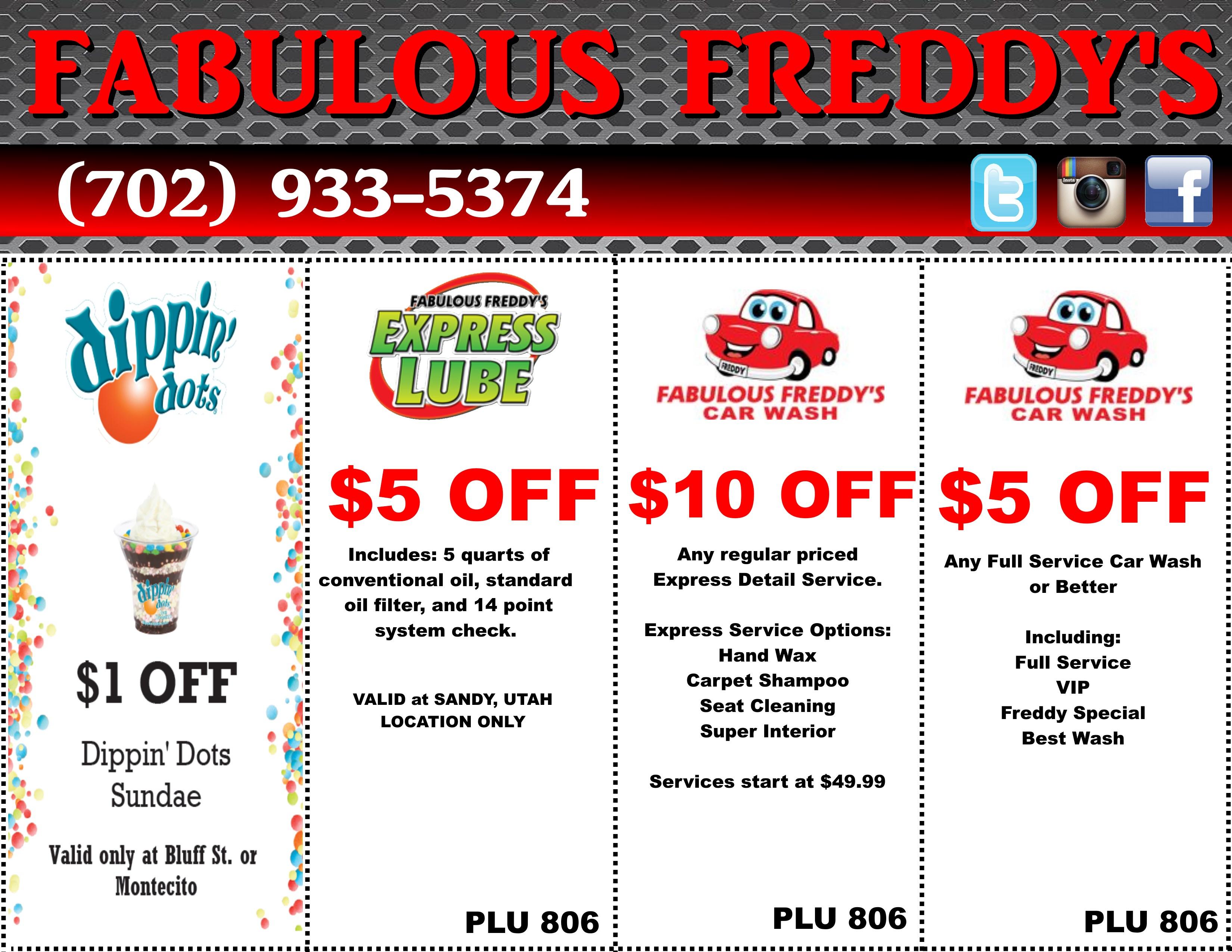 Take Advantage Of Our Fabulous Coupons | Fabulous Freddy's | (702 - Free Printable Las Vegas Coupons 2014