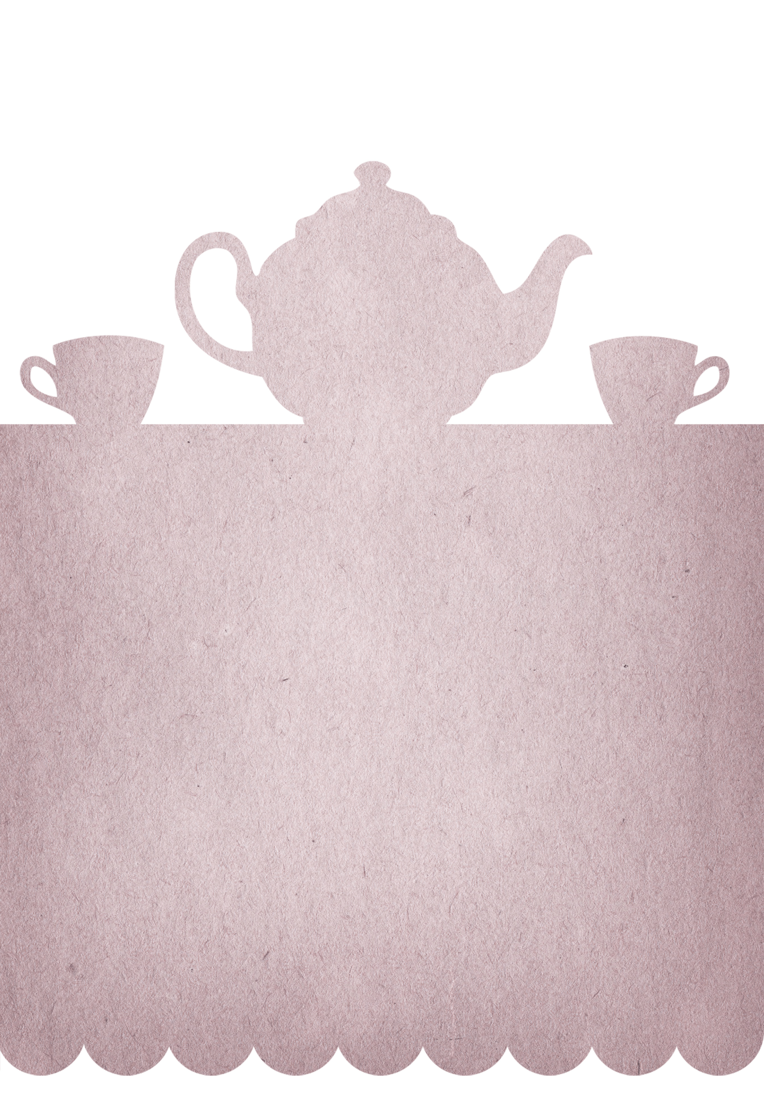 Tea Party - Free Printable Party Invitation Template   Greetings - Free Printable Kitchen Tea Invitation Templates