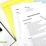 Teach Starter's Most Popular Teacher Resources In May 2018   Free Printable Report Card Comments