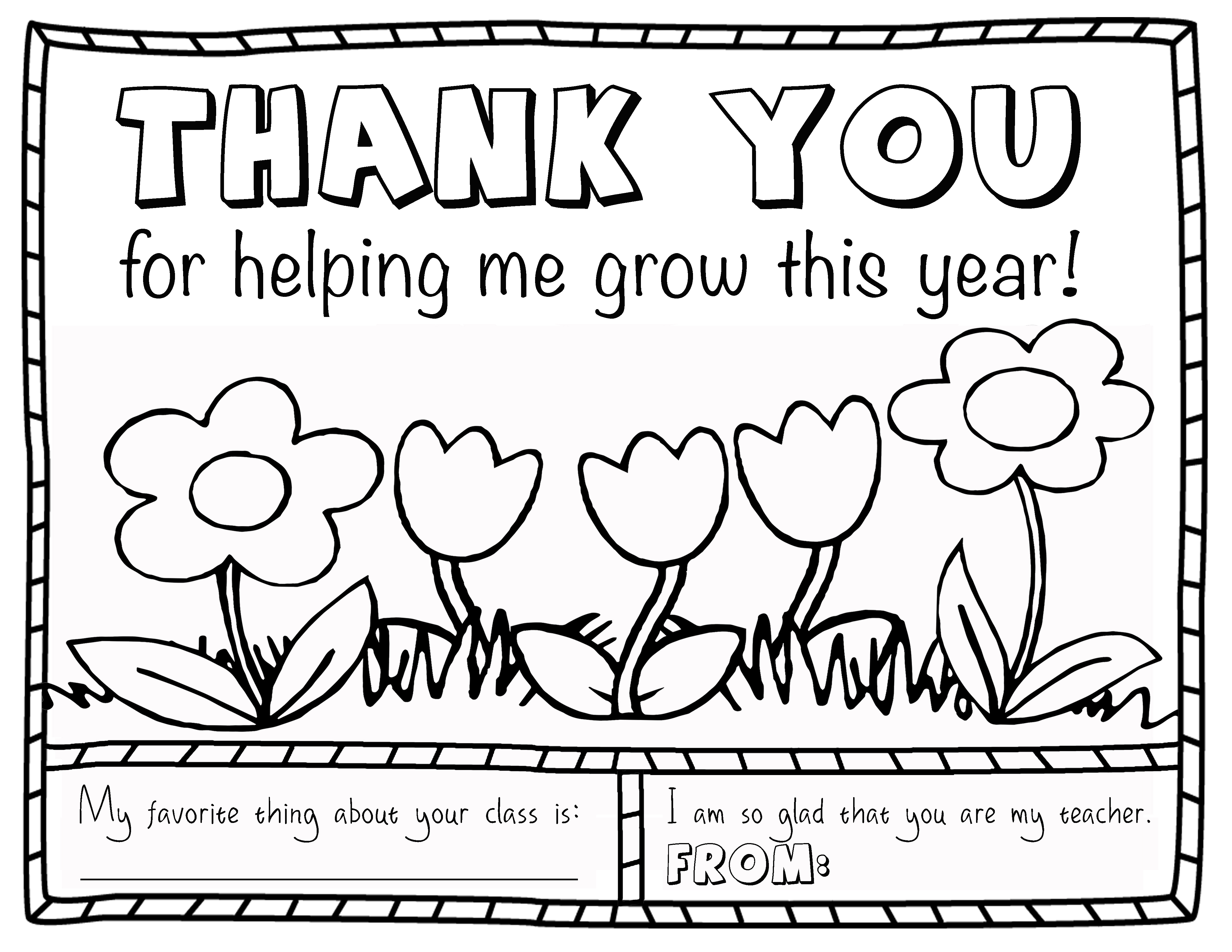 Teacher Appreciation Coloring Page | Projects In Parenting - Free Printable Teacher Appreciation Cards To Color