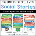 Teaching Social Skills With Social Stories   Whimsy Workshop Teaching   Free Printable Social Stories