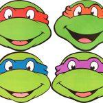 Teenage Mutant Ninja Turtles Black And White Clipart   Clipart Kid   Teenage Mutant Ninja Turtles Free Printable Mask