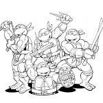 Teenage Mutant Ninja Turtles Coloring Pages   Teenage Mutant Ninja Turtles Free Printable Mask