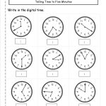 Telling And Writing Time Worksheets   Free Printable Telling Time Worksheets
