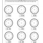 Telling Time Worksheets From The Teacher's Guide   Free Printable Telling Time Worksheets