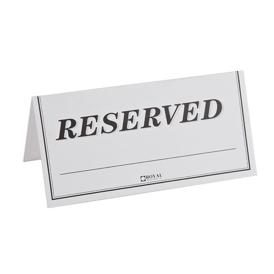 Tent Signs For Tables | Hgvi.tk - Free Printable Reserved Table Signs