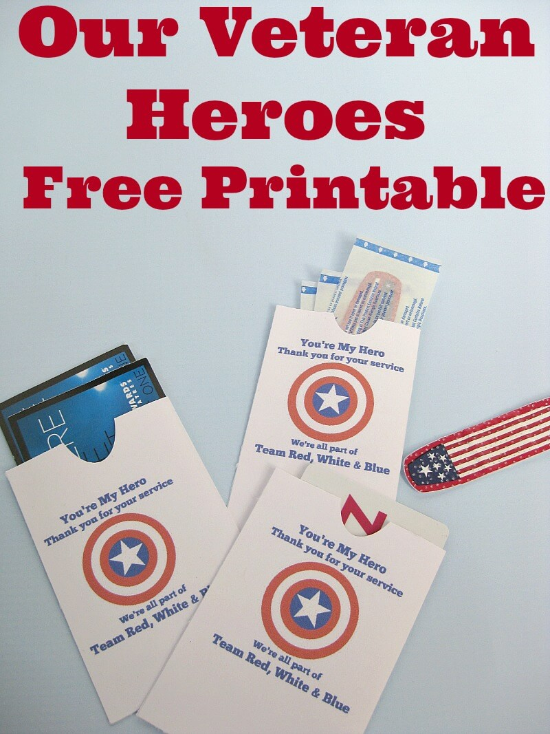 Thank A Veteran Cards Free Printable - Organized 31 - Free Printable Thank You Cards For Soldiers