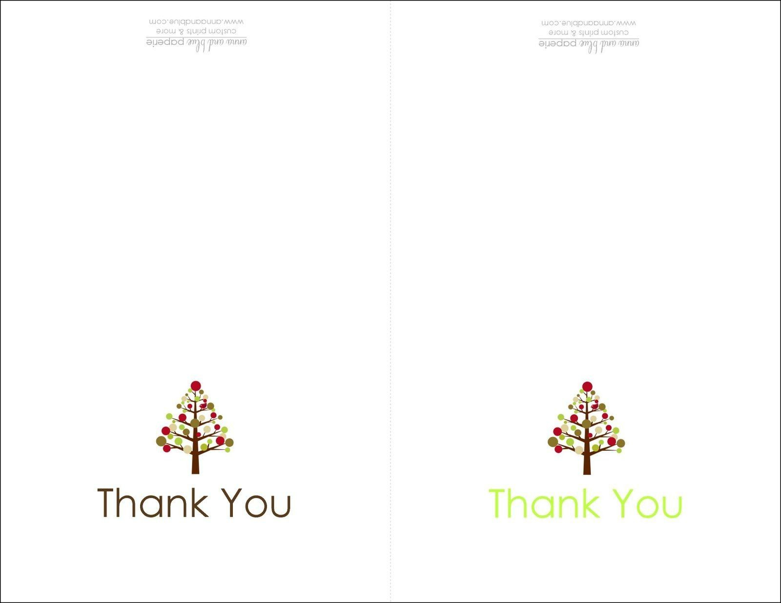 Thank You Card Design Template New Thank You Card Printable | Cards - Free Christmas Thank You Notes Printable