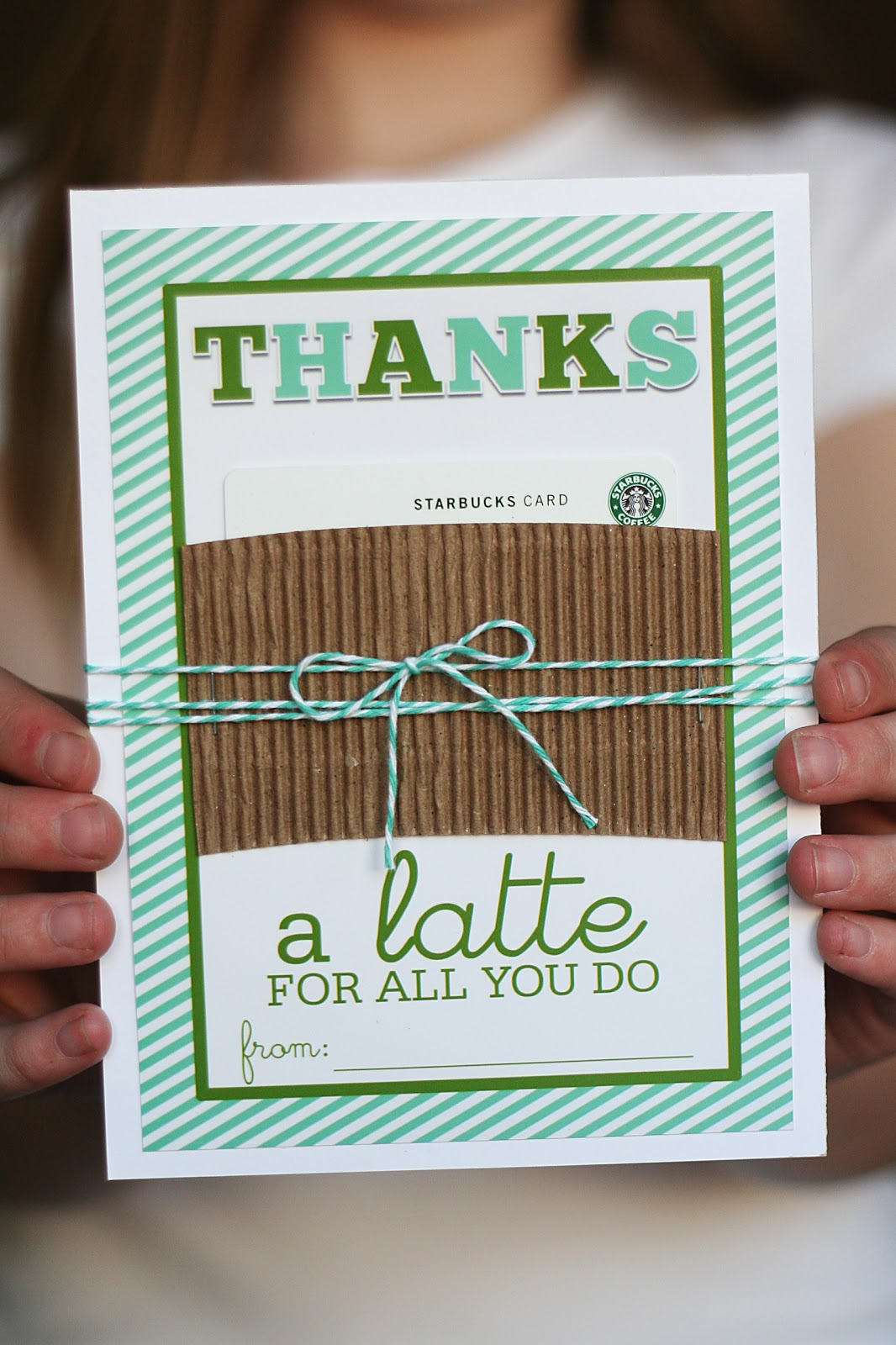 "Thanks A ""latte"" - Eighteen25 - Administrative Professionals Cards Printable Free"