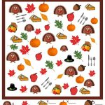 Thanksgiving I Spy Game   Free Printable | Thanksgivingpilgrams   Thanksgiving Games Printable Free