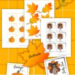 Thanksgiving Place Card Printable | Thanksgiving Printables   Free Printable Thanksgiving Place Cards To Color