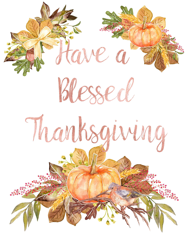 Thanksgiving Printables - Free Printable Thanksgiving Graphics