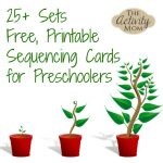 The Activity Mom   Sequencing Cards Printable   The Activity Mom   Free Printable Sequencing Worksheets For Kindergarten