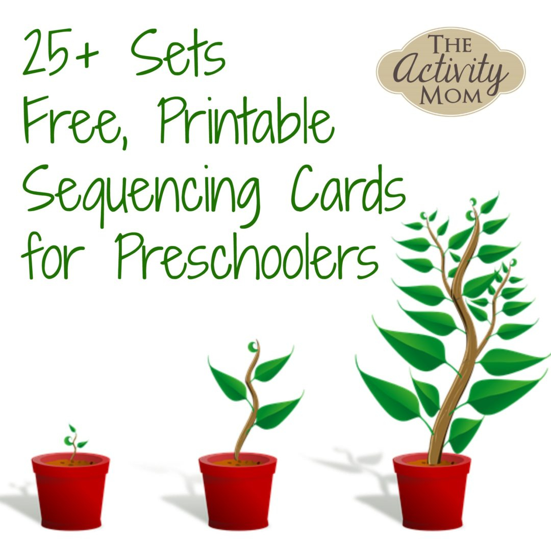 The Activity Mom - Sequencing Cards Printable - The Activity Mom - Free Printable Sequencing Worksheets For Kindergarten