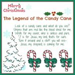The Legend Of The Candy Cane: Free Printable And A Giveaway!   Daily   Free Printable Candy Cane Poem