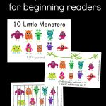 The Measured Mom   Free Printable Books For Beginning Readers