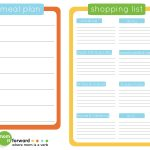The Ultimate List Of Free Meal Planner Printables   Free Printable Menu Planner
