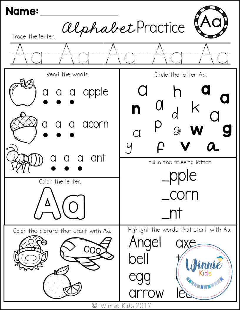 These Alphabet Printables Are Perfect For Assessments As Well As - Free Printable Phonics Assessments