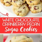 These White Chocolate Cranberry Pecan Cookies May Be The Easiest And   Free Printable Dessert Recipes