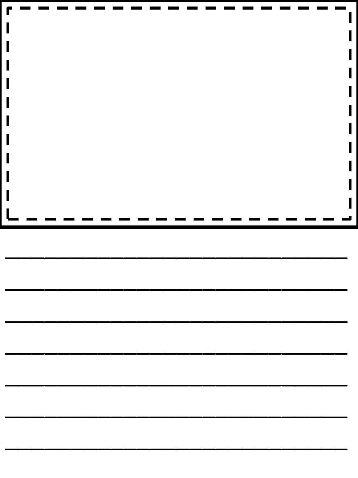 Third Grade Writing Paper | Homeshealth Handwriting Template - Free Printable Handwriting Paper
