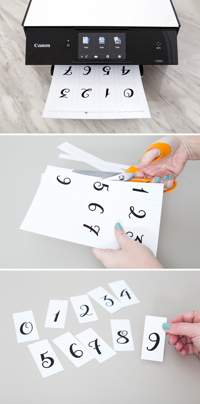 This Diy Wedding Countdown Sign Is The Absolute Cutest! - Free Printable Wedding Countdown