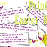 This Is Me Sarah Mum Of 3: Fun Easter Egg Hunt   Print Out!   Easter Scavenger Hunt Riddles Free Printable