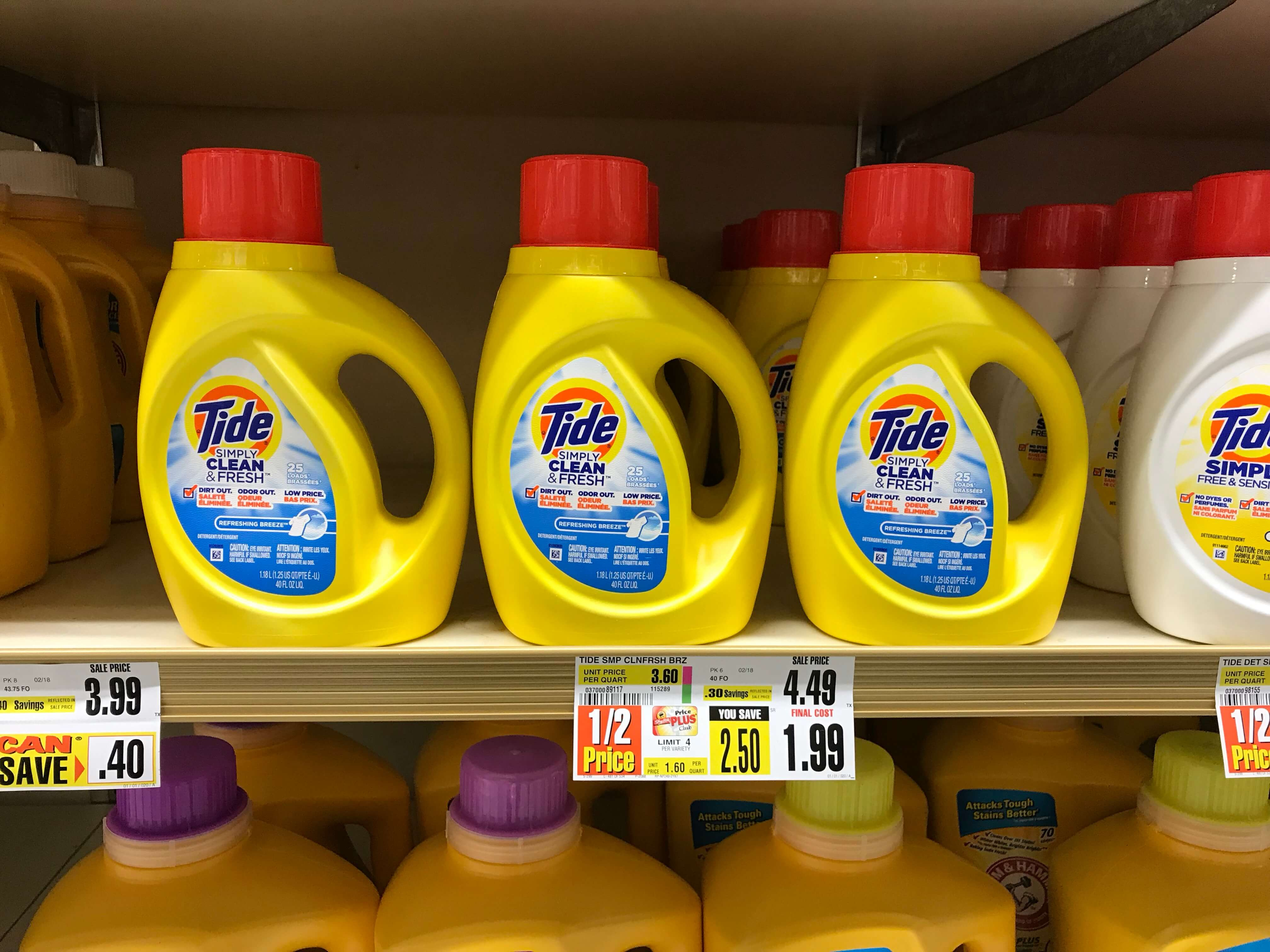 Tide Simply Laundry Detergent Just $0.99 At Shoprite! {4/22}Living - Free Printable Tide Simply Coupons