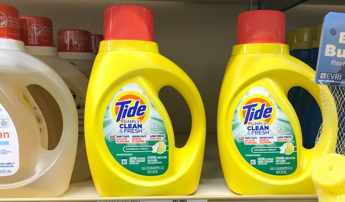 Tide Simply Laundry Detergent Only $0.08 Per Load At Dollar General - Free Printable Tide Simply Coupons