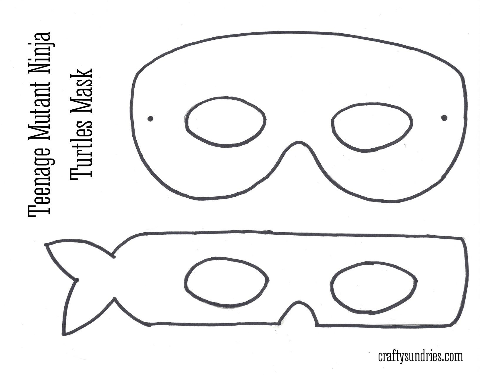 Tmnt Mask … | Work - Teenage Mutant Ninja Turtle | Pinterest | Ninja - Teenage Mutant Ninja Turtles Free Printable Mask