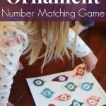 Toddler Approved!: Ornament Number Matching Game {+ Free Printable}   Free Printable Toddler Matching Games