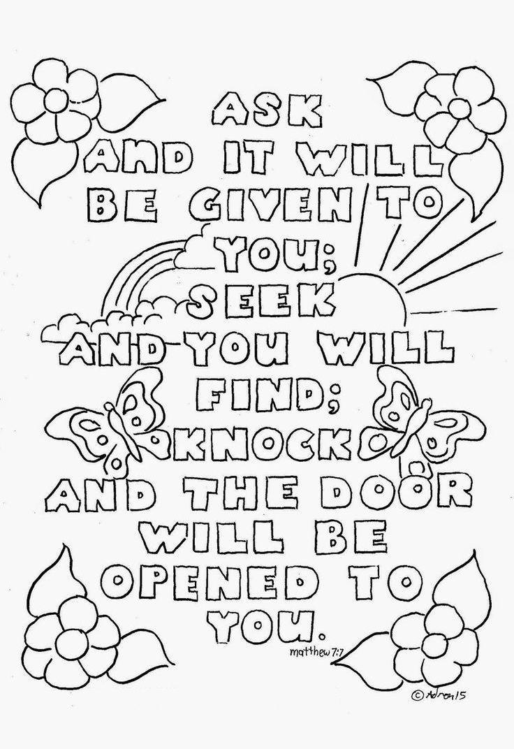 Top 10 Free Printable Bible Verse Coloring Pages Online   Coloring - Free Printable Bible Coloring Pages