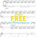 Top 100 Popular Piano Sheets Downloaded From Sheetdownload   Free Printable Piano Pieces