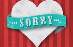 Free Printable Apology Cards