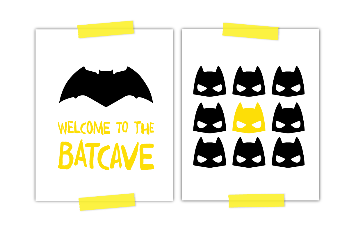 Two Awesome Free Batman Printables Every Little Boy Needs - Free Printable Batman Pictures
