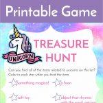 Unicorn Treasure Hunt Game Free Printable   Growing Play   Free Printable Treasure Hunt Games