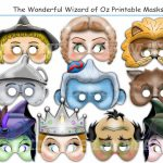 Unique The Wonderful Wizard Of Ozholidaypartystar On Zibbet   Free Printable Wizard Of Oz Masks