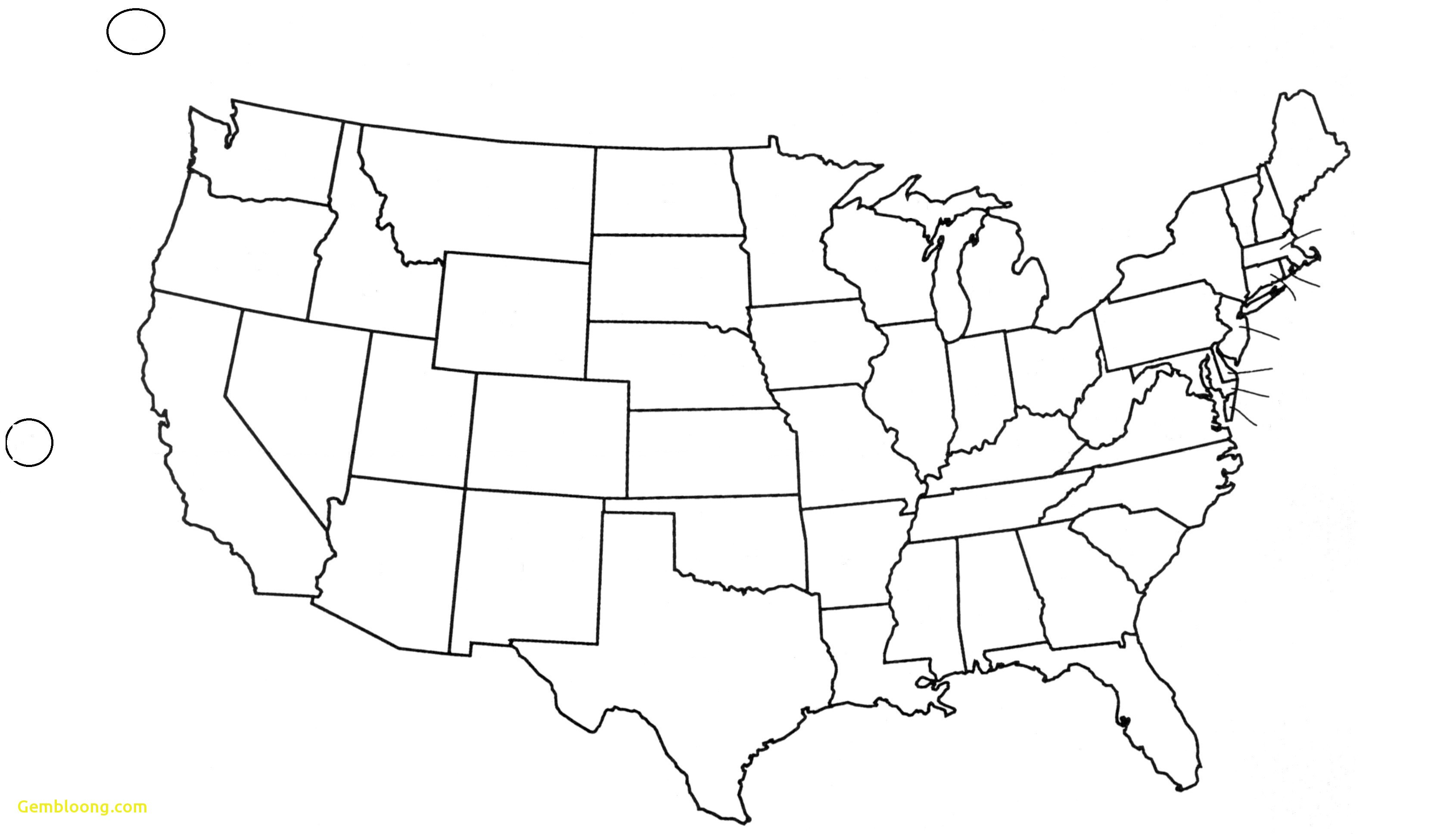 United States Map Blank With Capitals Refrence Free Printable Us Map - Free Printable State Maps