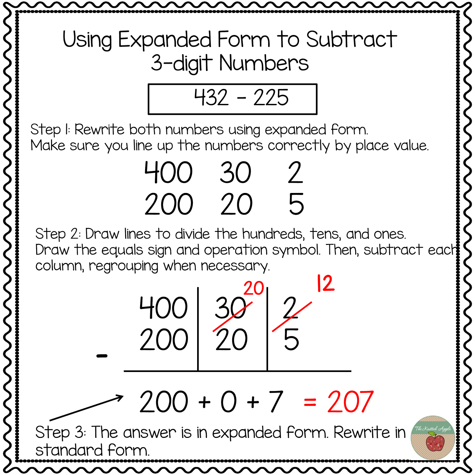 Using Expanded Notation To Regroup | Math | Pinterest | Math - Free Printable Expanded Notation Worksheets