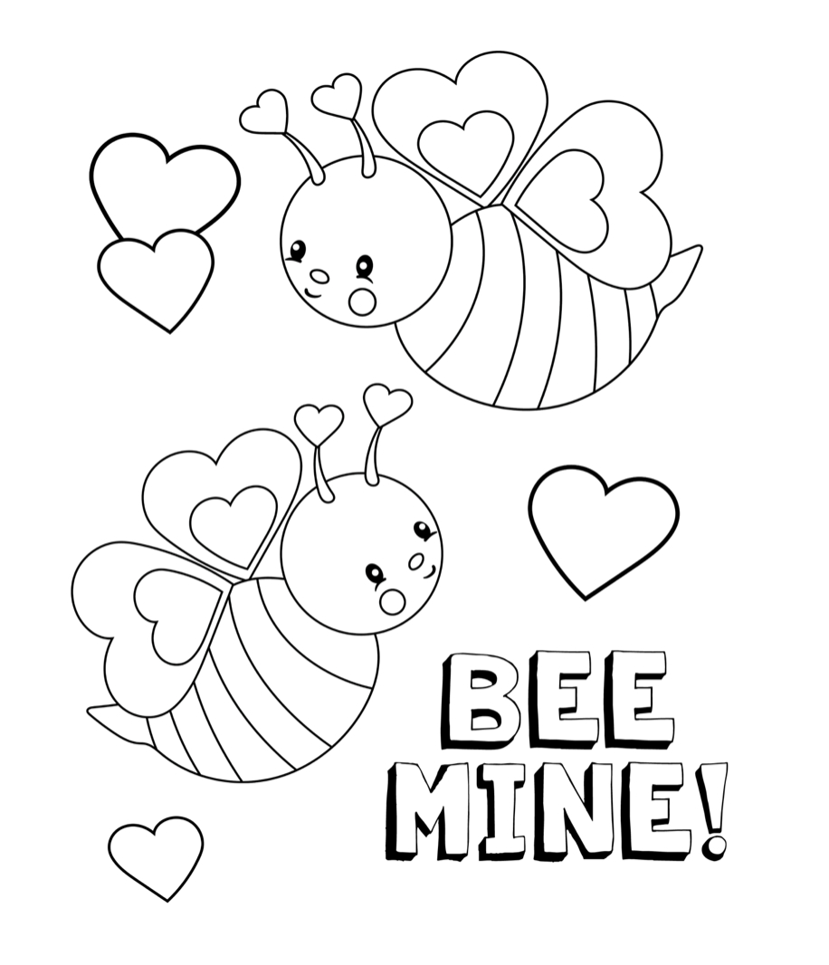 Valentine's Coloring Pages For Kids - Crazy Little Projects - Free Printable Valentine Coloring Pages