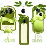 Vector Illustration. Label For Product. Olive Oil   Scrappin   Tag   Free Printable Olive Oil Labels