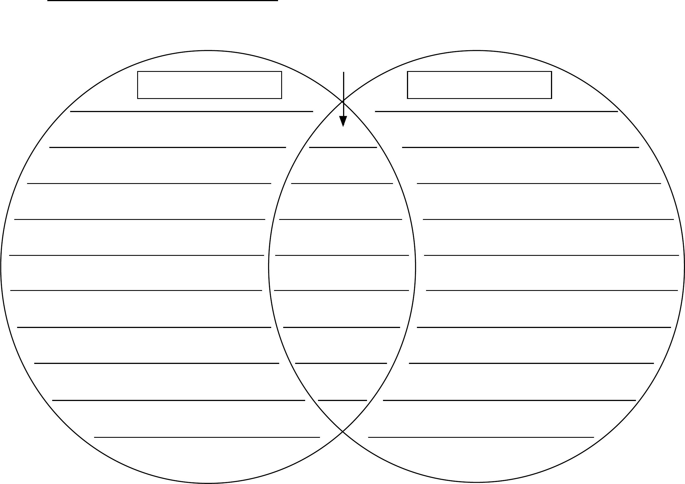 Venn Diagram Template (Character) Free Download - Free Printable Venn Diagram