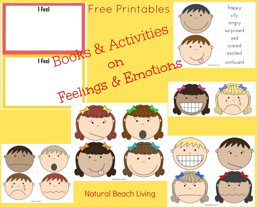 Visual Cards For Managing Feelings And Emotions Free Printables - Free Printable Pictures Of Emotions